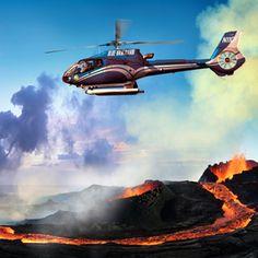 Blue Hawaiian helicopter ride