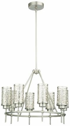 Save $ 656.87 ! Buy a Philips Forecast M206878 Brocade Chandelier, Brushed Nicke