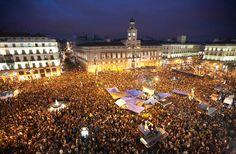 Plaza del sol. #SpanishTahrirSquare