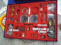 Philips ee2000 ELEKTONIK LABOR im Koffer, Experimentierkasten, Radiomann+ZUBEHÖR | eBay
