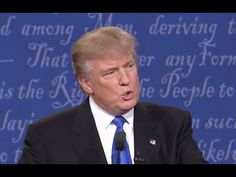 """Trump's Mic WAS SABOTAGED - Admits Debate Commission Audio Engineer - Causing """"Sniffling"""" Effect - YouTube"""