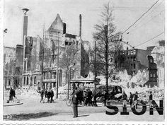 WW2 in the Netherlands - Rotterdam May 14th 1940 - Coolsingel