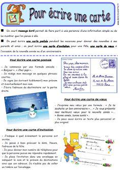 rédaction, écriture, production d'écrits, portrait, narrateur, cahier de règles, CE2, CM1, CM2, fiches