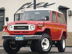 """Toyota Landcuriser 70 PX-10  1998. Short type FJ70 body with round eyes.  limited """"Neo-classic"""" version."""