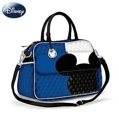 Disney Mickey Mouse Designer Carryall Purse - I'd use this for a diaper bag or camera bag!