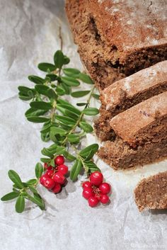 Interested in trying this version of Lingonberry Bread