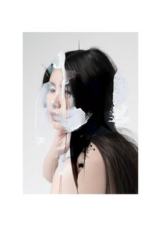 AKANE by Louise Mertens #collage #photography