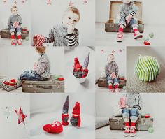 Child Photography / Christmas Photo Session Ideas / Holiday Card Idea / Snap Boutique / Prop Ideas / Poses / Pose Idea / Photoshoot