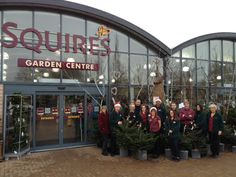 A festive photo from the Shepperton team.