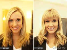 How to get bangs without making the cut