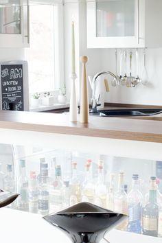 Kitchen Interior Scandinavian Nordic DIY Blackboard Paint Tafelfarbe Plants Sukkulenten Applicata