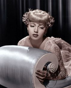 The ridiculously gorgeous Lana Turner