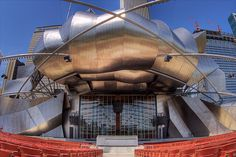 Frank Gehry Outdoor Pavilion Grant Park