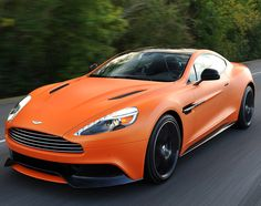 2014-aston-martin-vanquish-00 / A matt orange Vanquish? Ballsy m*th*rf*ck*r. Love it.