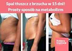 Spal tłuszcz z brzucha w 15 dni! Prosty sposób na metabolizm