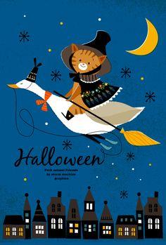 Happy Halloween Halloween Eve, Halloween Canvas, Halloween Quilts, Happy Halloween, Autumn Illustration, Halloween Illustration, Graphic Illustration, Vintage Halloween Cards, Halloween Wallpaper