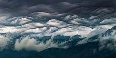 Asperitas je vzácny oblak, ktorý sa objavil v Tatrách. Takto úžasne vyzerá