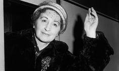 English writer, feminist and political activist Vera Brittain (1893-1970) in 1956.