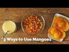 3 Ways to Use Mangoes | Yummy Ph