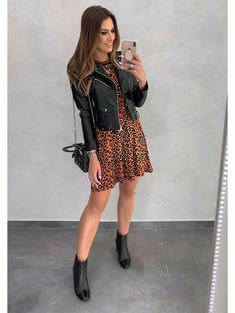 Edgy Outfits, Cute Casual Outfits, Fashion Outfits, Womens Fashion, Look Fashion, Autumn Fashion, Mode Rockabilly, Look Star, Look Boho