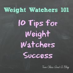 Weight Watchers Tips for Success