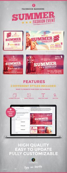 Creative Facebook Timeline Cover Template Psd  Facebook Banner