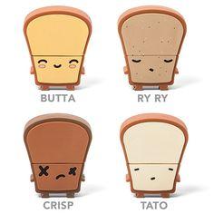 How do you like your toast?