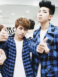BTS | JIN and RAP MONSTER