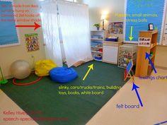 Sensory room idea