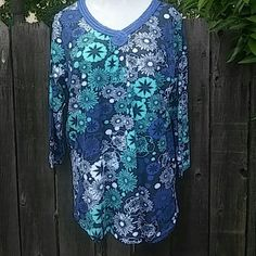 BNWOT Tunic Top Woman Within Size M BNWOT Tunic Top From Woman Within Size M Which Is Equivalent To A Size 12-14. Tops Tunics