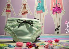 Panty purse. Monedero en forma de panty.