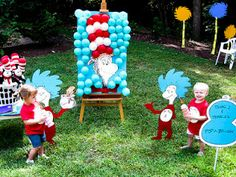 This is just cute....Kitchen Fun With My 3 Sons: Over 50 of the Best Dr. Seuss Fun Food & Craft Ideas!