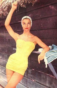 Iris Bianchi <3 Mademoiselle 1956