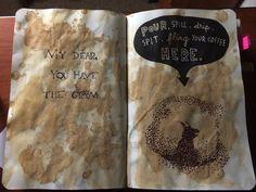 Activité : Wreck this Journal / Saccage ce carnet - version Harry Potter