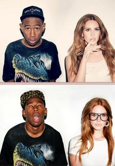 Tyler the Creator and Lana Del Rey