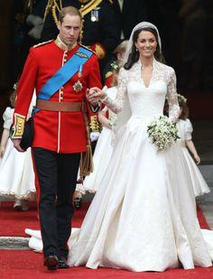 Is Kate Middletons trouwjurk van Alexander McQueen gejat van een andere designer? | ELLE