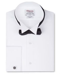Slim Fit Marcella Wing Collar Tuxedo Shirt