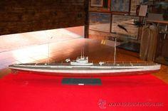 Submarino U-BOOT U35, de la I Guerra Mundial, en resina. Escala 1:72.