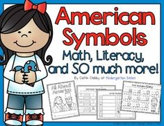 This unit is aligned to Common Core. It includes the following:Writing:All About America book. There is a cover for students' books, a table of contents, and over 20 writing options to choose from. Some of the writing options include: the American Flag, Liberty Bell, the Statue of Liberty, the Bald Eagle, George Washington, Abraham Lincoln, America, White House, and more!Whole Group:-2 Craft Ideas-KWL-Vocabulary-Symbols (activity to help students understand what a symbol is)Math:-Patriotic…