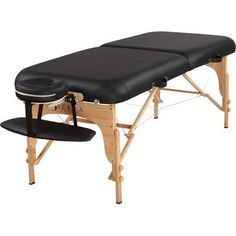 SierraComfort Luxe Portable Massage Table Finish: