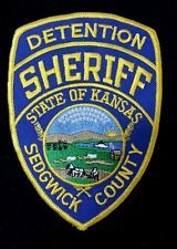 SEDGWICK COUNTY, KANSAS DETENTION SHERIFF  SHOULDER PATCH