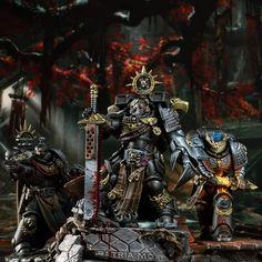 Warhammer 40000, Warhammer Deathwatch, Warhammer Armies, Warhammer 40k Figures, Warhammer Art, Warhammer Models, Warhammer 40k Miniatures, Grey Knights, Space Wolves