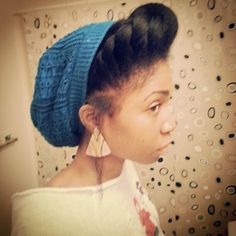 medgiadore:    Very Cute Natural Hairstyle!!!!!!!!!!