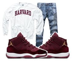 """""""Harvard"""" by tyreek-1 ❤ liked on Polyvore featuring art"""