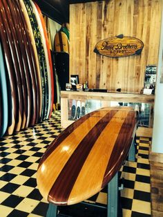 Wood PaddleBoard - Three Brothers is a SUP Wheels® dealer.  www.supwheels.com  See our dealer locator page for more information.