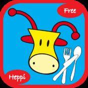 Jop gaat eten - Gratis Jop de Giraf App voor peuters en kleuters!