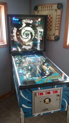 Black Hole Pinball Machine | 1981 | Gottlieb #amesiowa #kdgameroomsupply