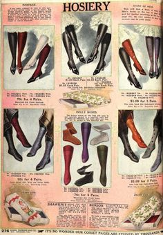A Brief History of Stockings