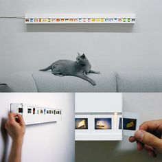 Looking for possibilities for old family slides...Slide Light (Customize the Mood of Your Room with Slide Photos)