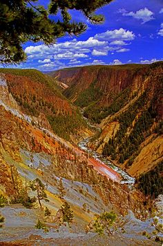 Grand Canyon of the Yellowstone, Yellowstone National Park, Wyoming Please check out: http://TheThrillSociety.com It's wicked Thrilling!